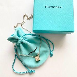 Tiffany & Co. Roman Numeral Cube Atlas Necklace